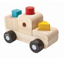 деревянная игрушка Пазл-сортер - грузовик