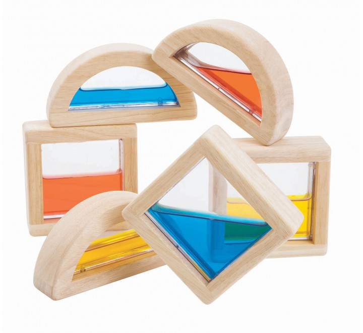 деревянная игрушка Блоки с водой