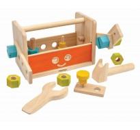 деревянная игрушка Набор инструментов робот