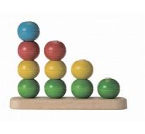 деревянная игрушка Сортируй и считай