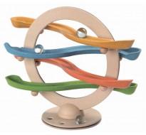 деревянная игрушка Зигзаг с шарами щёлк-щёлк