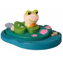 деревянная игрушка Пазл жизнь лягушки