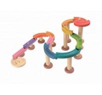 деревянная игрушка Мраморный жёлоб-де люкс
