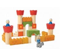 деревянная игрушка Блоки для замка