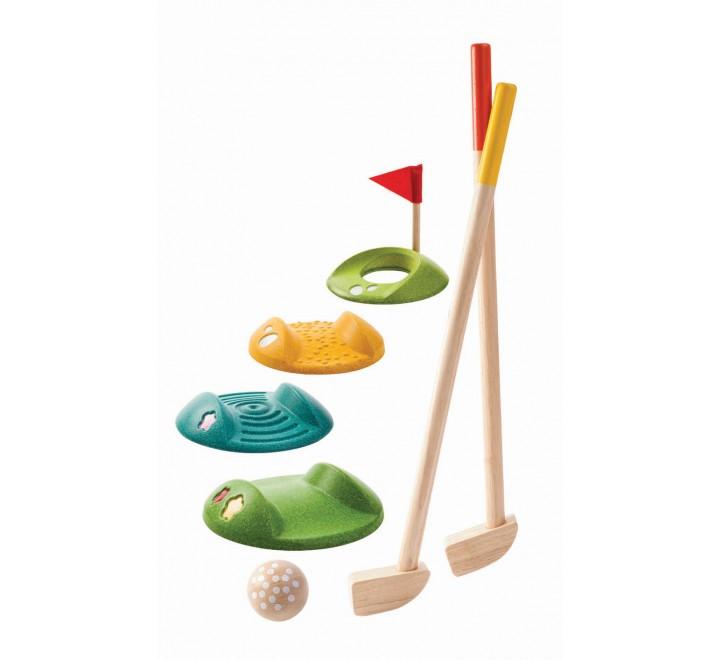 деревянная игрушка Мини-гольф - полный набор