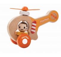 деревянная игрушка Вертолёт