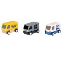 деревянная игрушка Фургоны