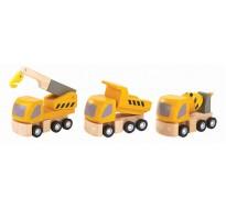 деревянная игрушка Дорожно-ремонтные машины