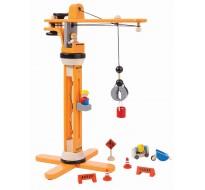 деревянная игрушка Подъёмный кран