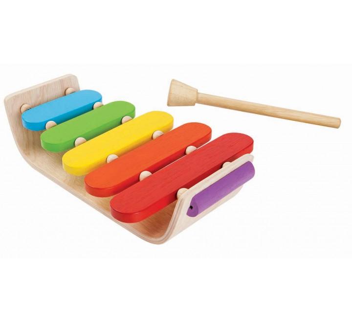 деревянная игрушка Овальный ксилофон