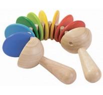 деревянная игрушка Трещотка