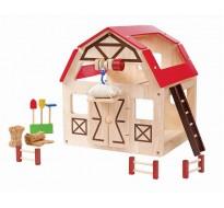 деревянная игрушка Сарай