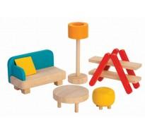деревянная игрушка Гостиная