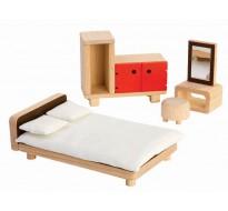 деревянная игрушка Спальня