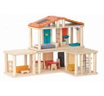 деревянная игрушка Кукольный домик - конструктор