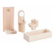 деревянная игрушка Ванная-классическая
