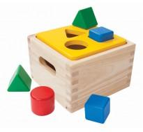деревянная игрушка Рассортируй формы (сортер)