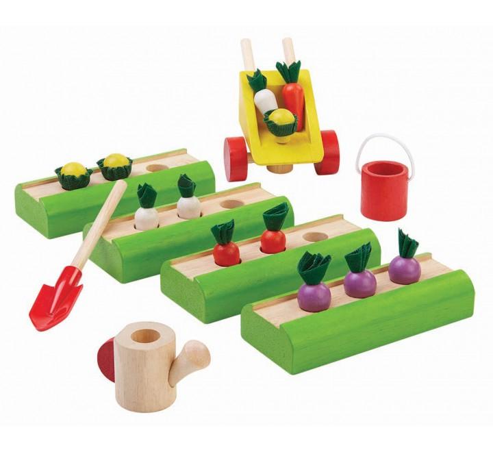 деревянная игрушка Огород