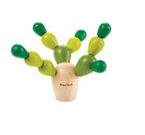 деревянная игрушка Балансирующий кактус