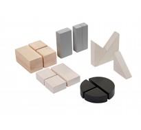 деревянная игрушка Блоки-сортеры разных форм