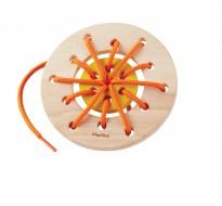 деревянная игрушка Кольцо-шнуровка
