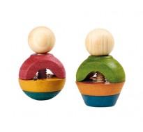 деревянная игрушка Гайки и болты