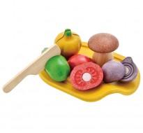 деревянная игрушка Овощное ассорти