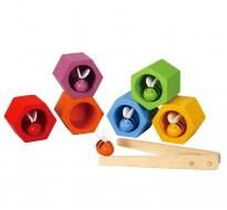 деревянная игрушка Пчелиные ульи