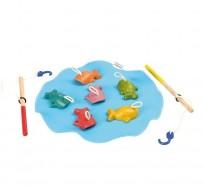 деревянная игрушка Рыбалка