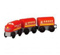 деревянная игрушка Пригородный поезд
