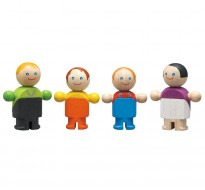деревянная игрушка Обычная семья