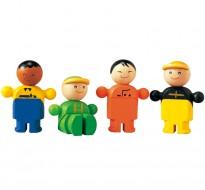 деревянная игрушка Ремесленники