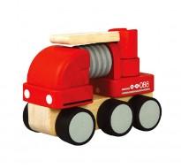 деревянная игрушка Пожарная мини-машина
