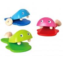 деревянная игрушка Рыбки-кастаньеты