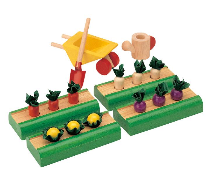 Игрушки в огород
