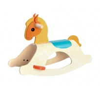 деревянная игрушка Пони-качалка