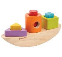 деревянная игрушка Лодка-сортер